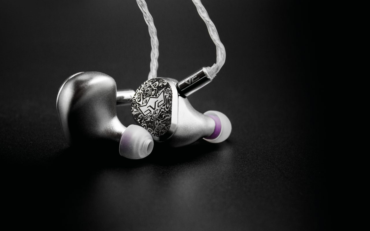 Elite Silver ERLKONIG Earphones