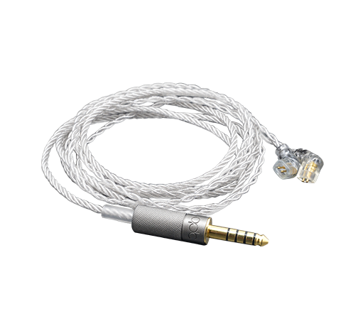 4.4mm sterling silver cable QDC