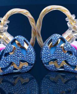 QDC Blue Dragon Earphones